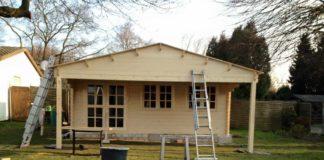 Anbauten am Gartenhaus