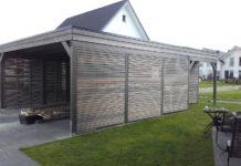 carport mit rhombusleisten die holzfassade ist entscheidend so muss das. Black Bedroom Furniture Sets. Home Design Ideas