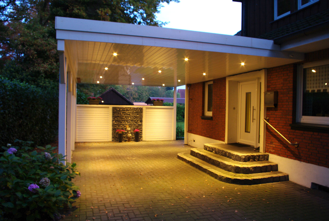 Haus Eingang carport und hauseingang kombinieren so muss das