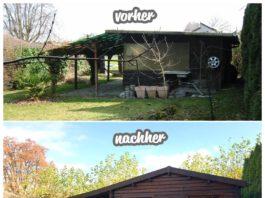 Gartenhaus renovieren oder umbauen