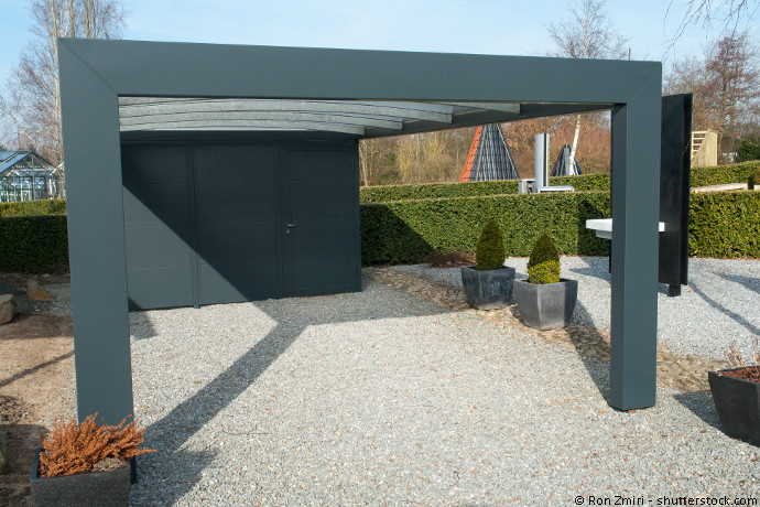 carport aus stahl so muss das magazin by steda. Black Bedroom Furniture Sets. Home Design Ideas