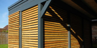 Holzverkleidung carport steda