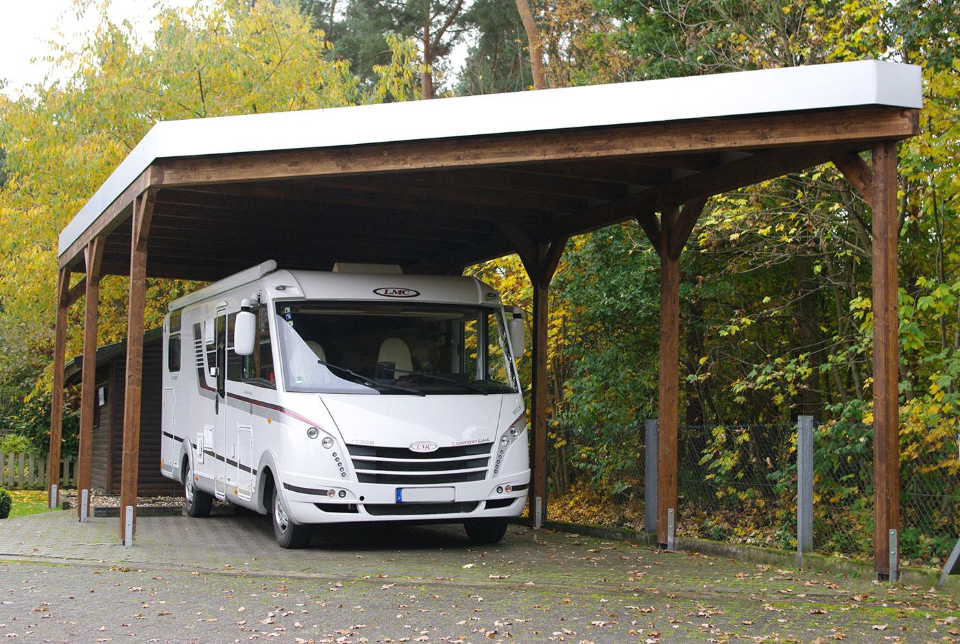 Garage mit carport flachdach  Garage oder Carport – Die Vor-und Nachteile für Sie zusammengefasst