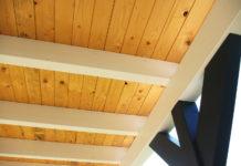 carport-flachdach-holz-wandanbau-dachschalung-pfette
