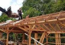 carport-wird-selbst-gebaut