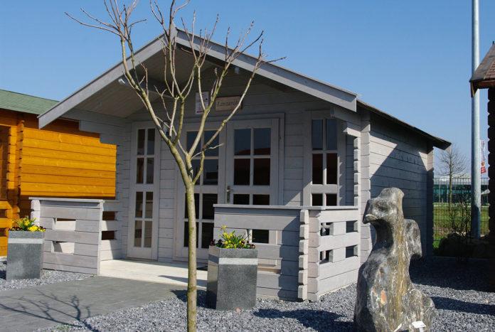 Gartenhaus in grau von steda