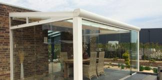 glasschiebewände für terrassenüberdachung