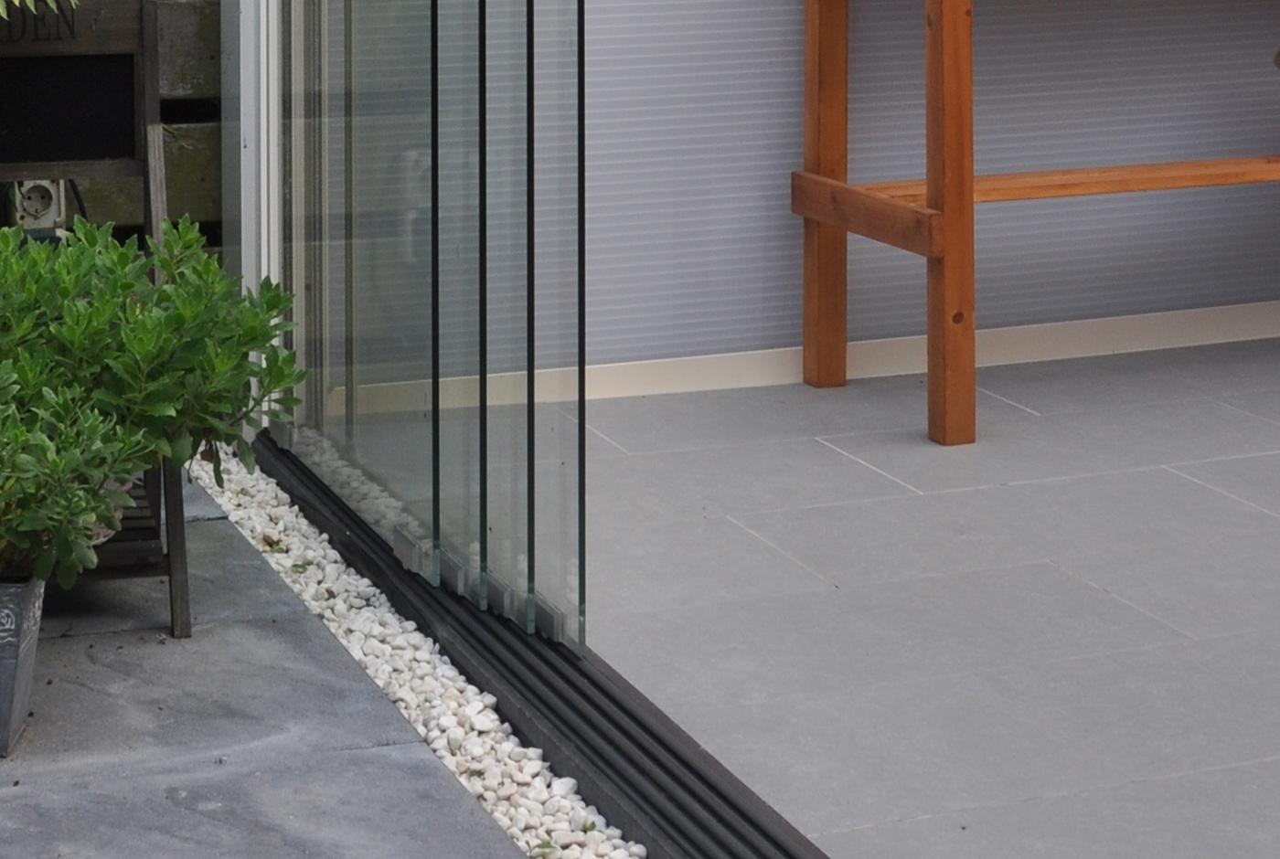 Terrassendach zum Öffnen - Glasschiebetüren & Glasschiebedach