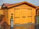 gartenhaus umfunktioniert zur holzgarage