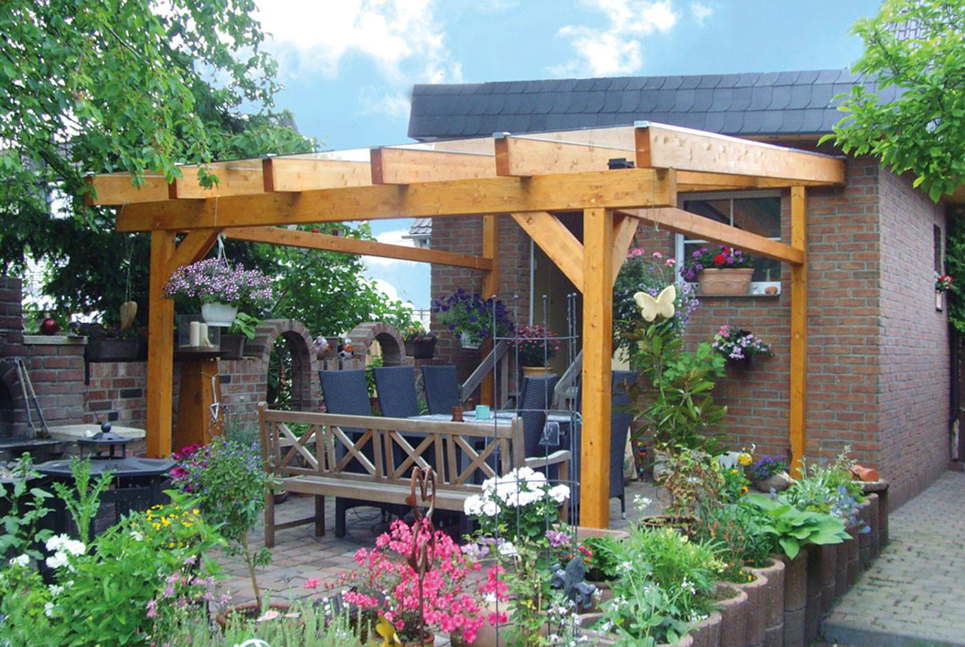 Pergola was genau ist eigentlich eine garten pergola - Gartengestaltung pergola ...