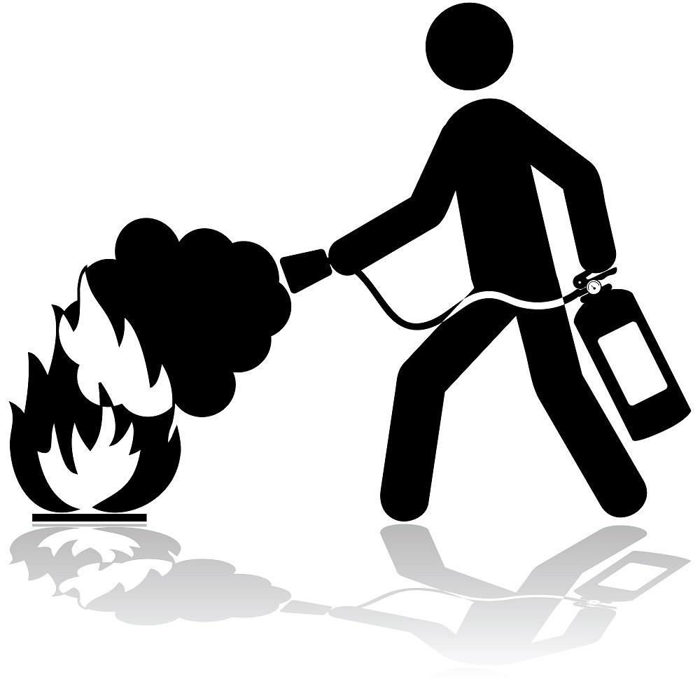 Vorsicht vor einem Brand des Tannenbaums
