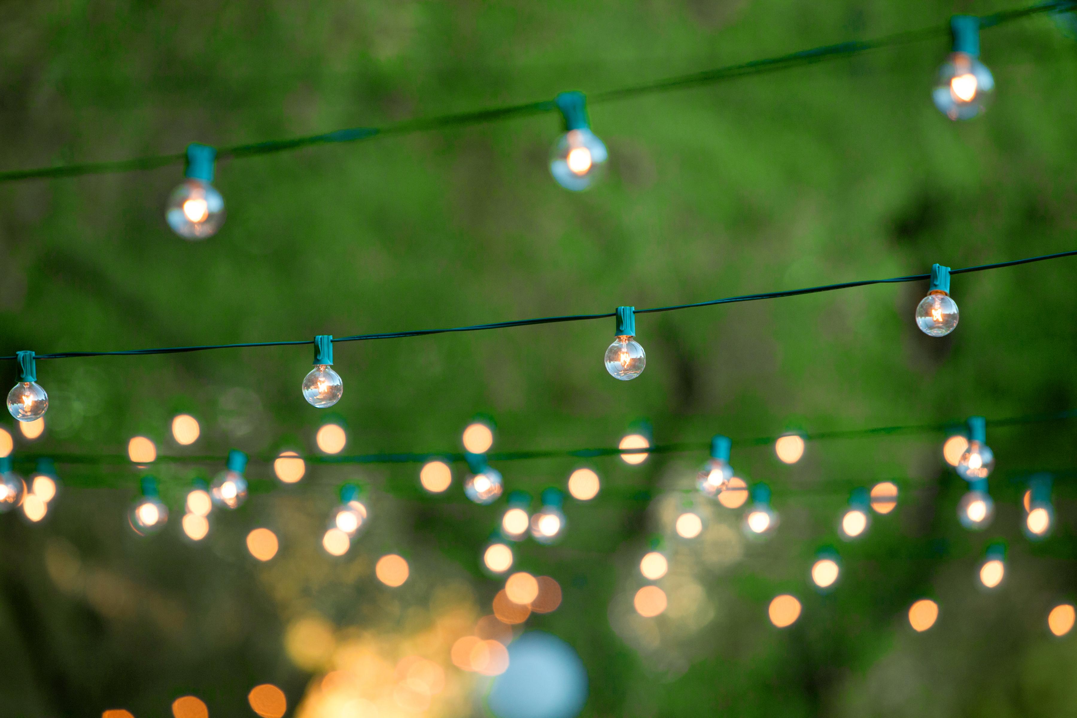 Stimmungsvolle Beleuchtung im Garten