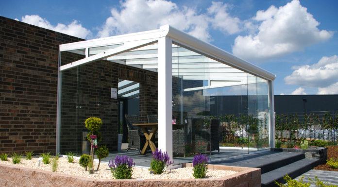 gartenhaus in grau modern zeitlos und elegant so muss das. Black Bedroom Furniture Sets. Home Design Ideas