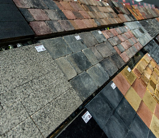 Pflastersteine für die Terrasse