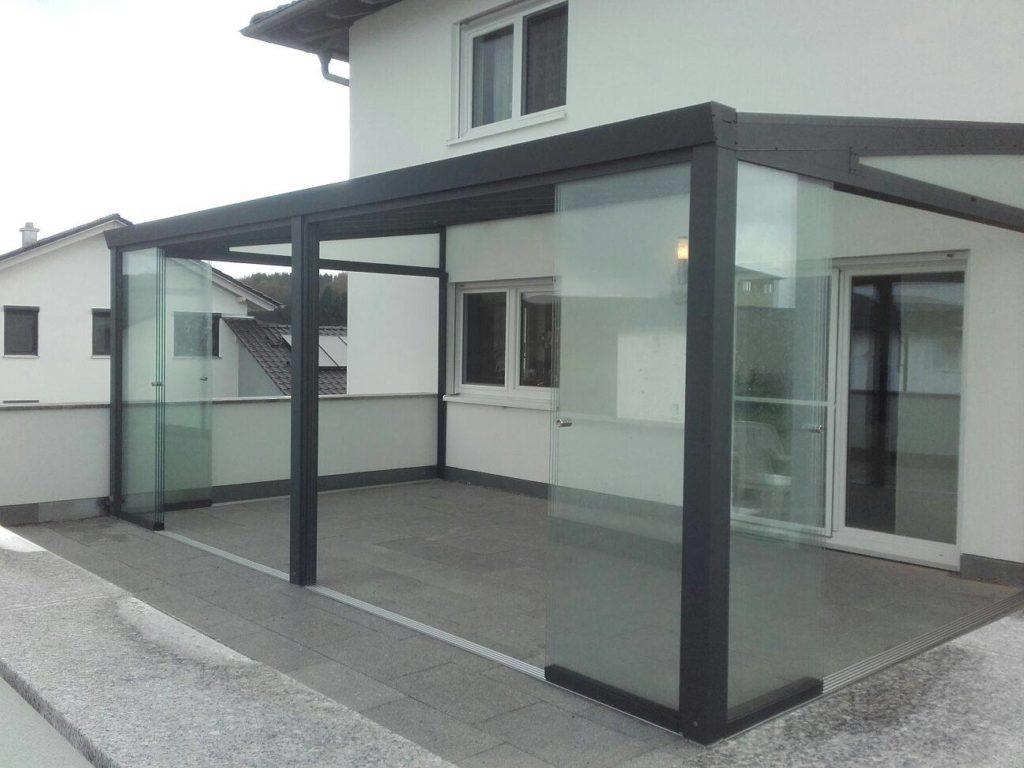 terrassenüberdachung mit vsg