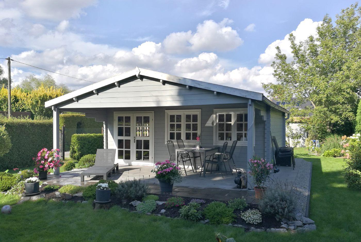 Gartenhaus Wird Zum Ferienhaus Im Garten Urlaub Machen