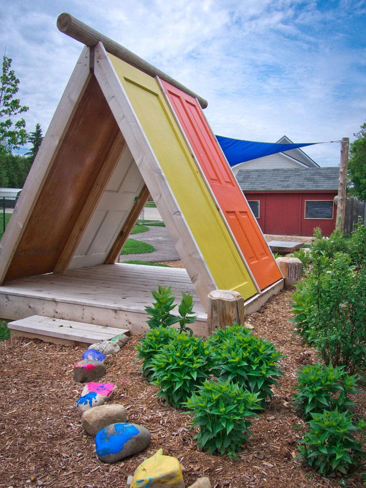 A-Rahmen Kinderspielhaus