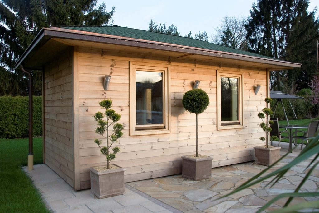 Allgemeine Lüftung Sauna