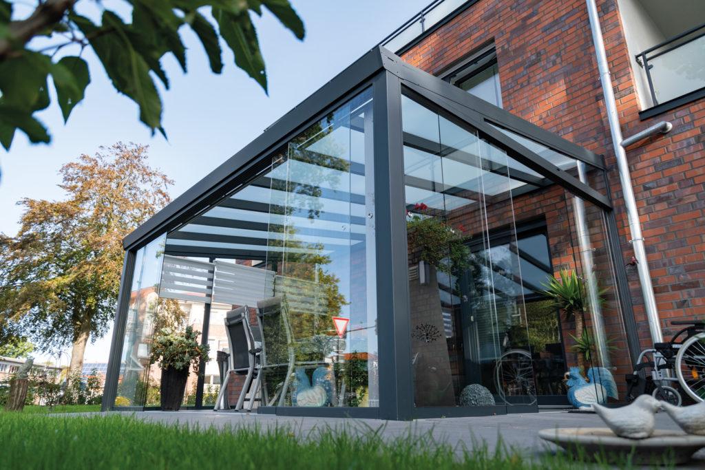 Aluminium Terrassenüberdachungen
