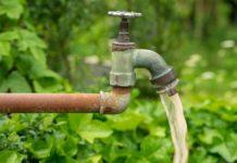 Garenhaus-Wasseranschluss