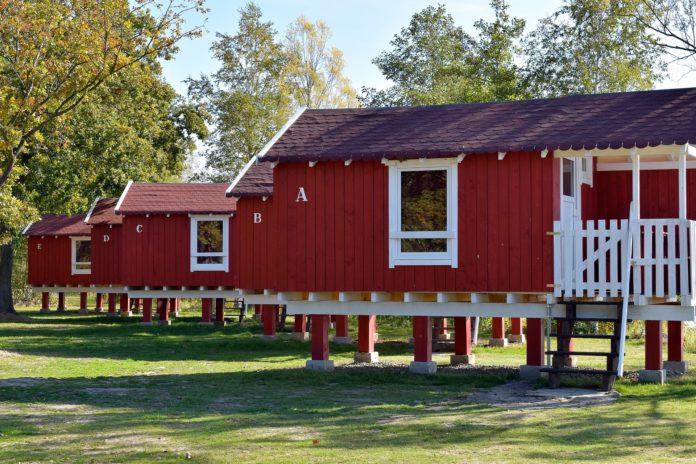 Gartenhaus-Stelzen