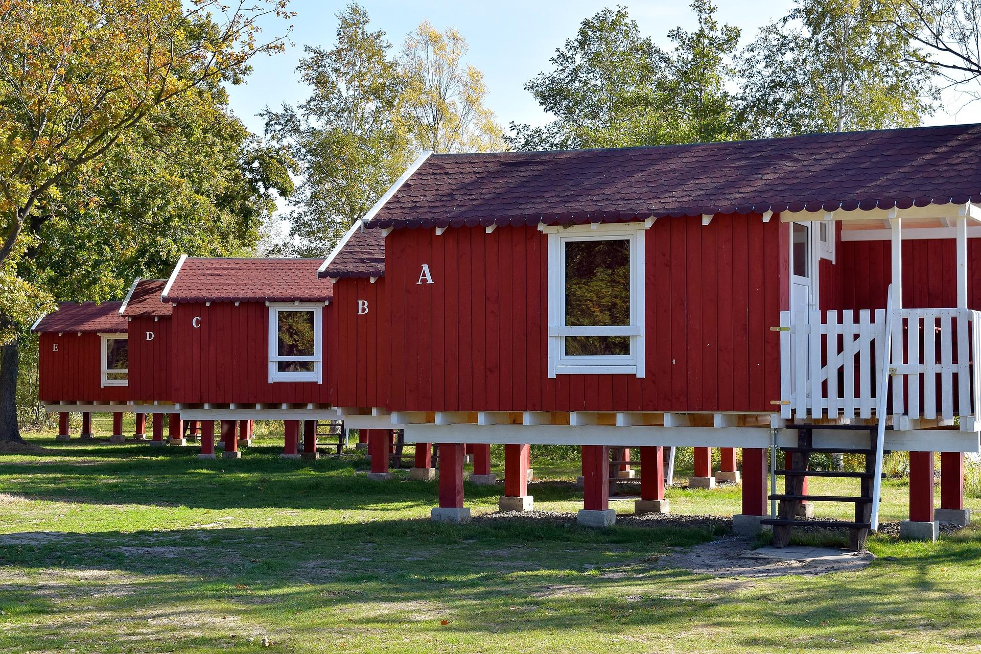 Gartenhaus Auf Stelzen Entspannung In Luftiger Höhe