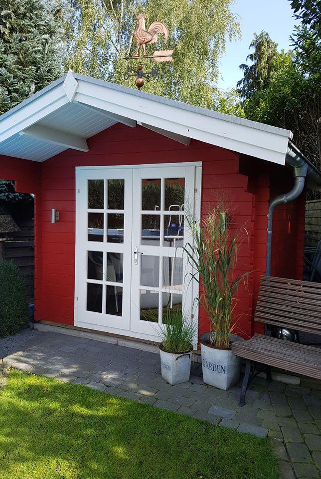 Gartenhaus schwedenstil mit Strom