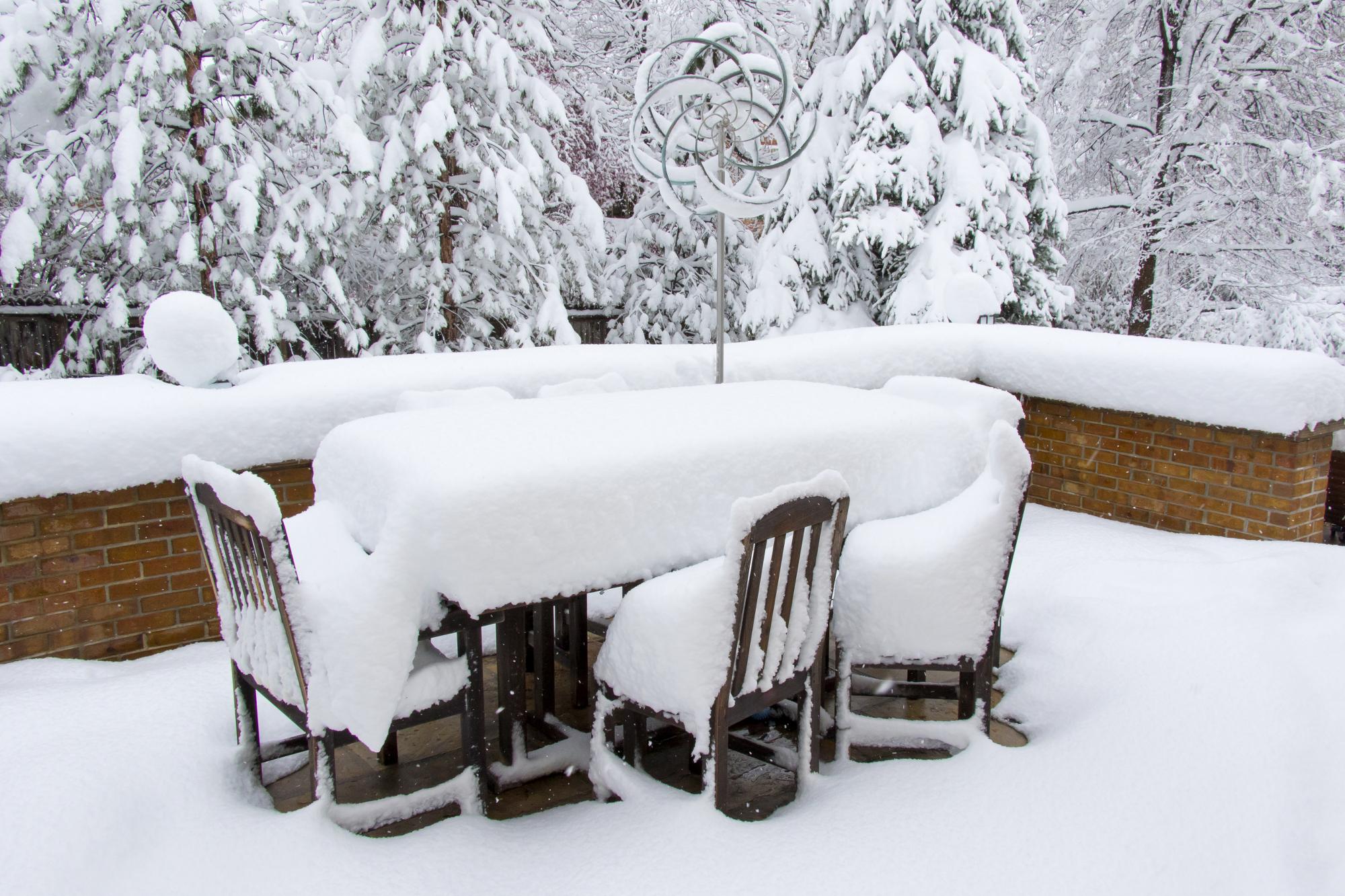Gartenmöbel Im Winter Draußen Stehen Lassen Das Müssen Sie Beachten