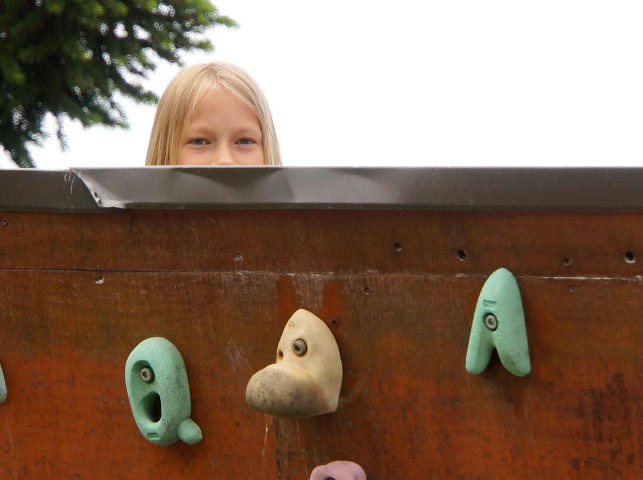 Kletterwand für Kinder
