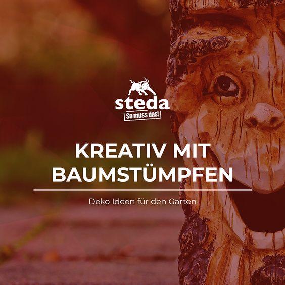 Kreatif mit Baumstumpfe