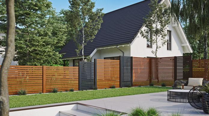 Sichtschutzzaun-Garten-Lounge