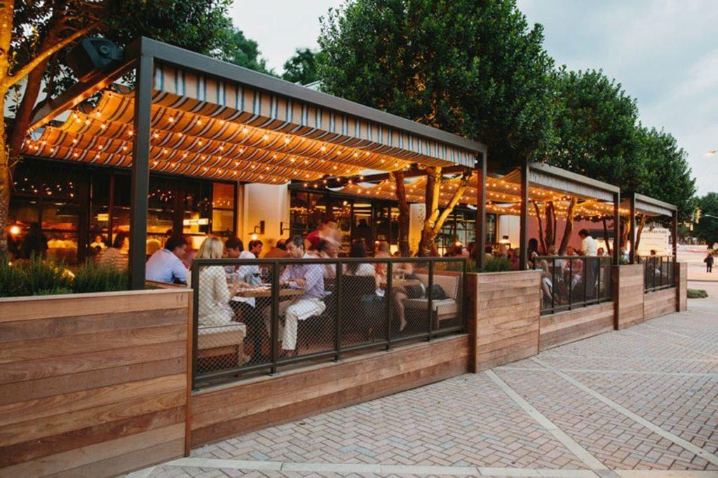 Terrassenüberdachung Restaurants