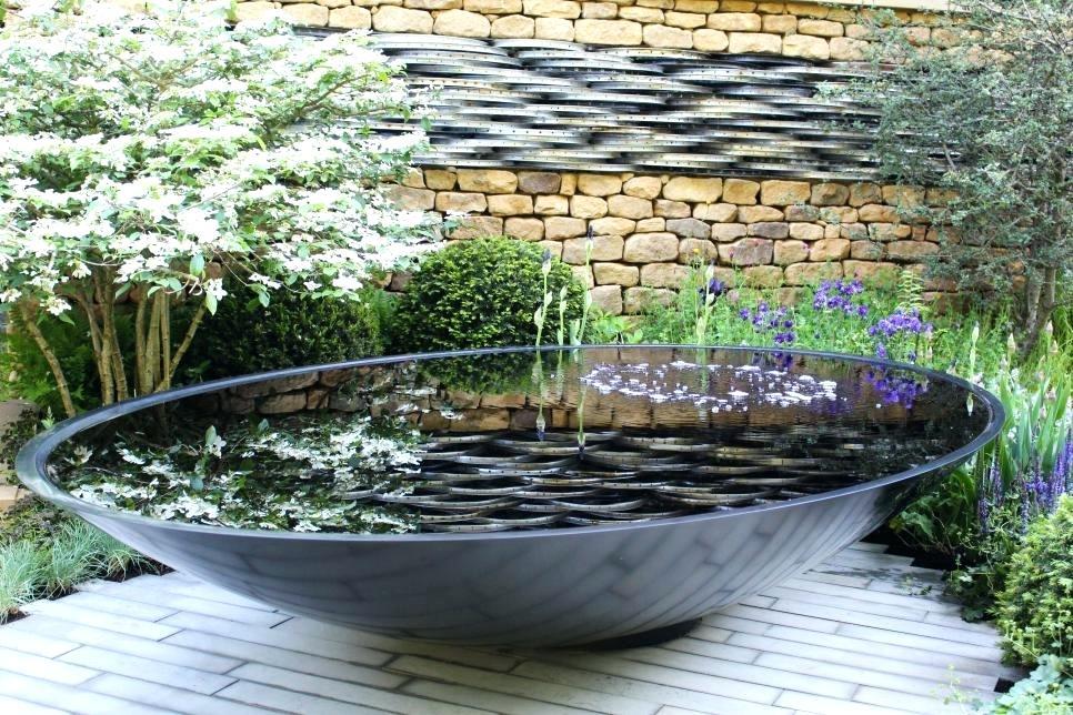 Wasser im Garten Ideen