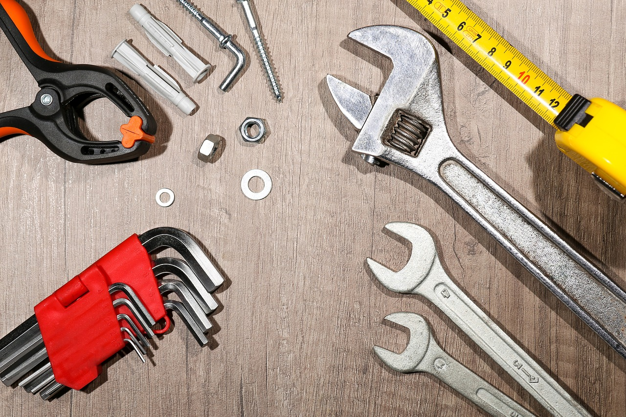 Werkzeug-aufgereiht