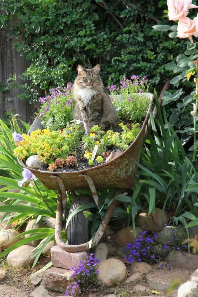 Garten Upcycling