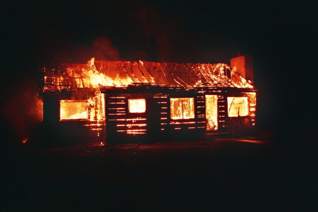 Brandschutz Gartenhaus