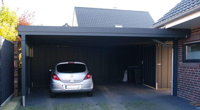 Carport Einfahrthöhe