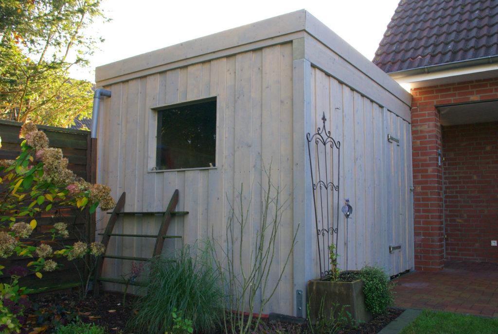 gartenhaus anbau an carport