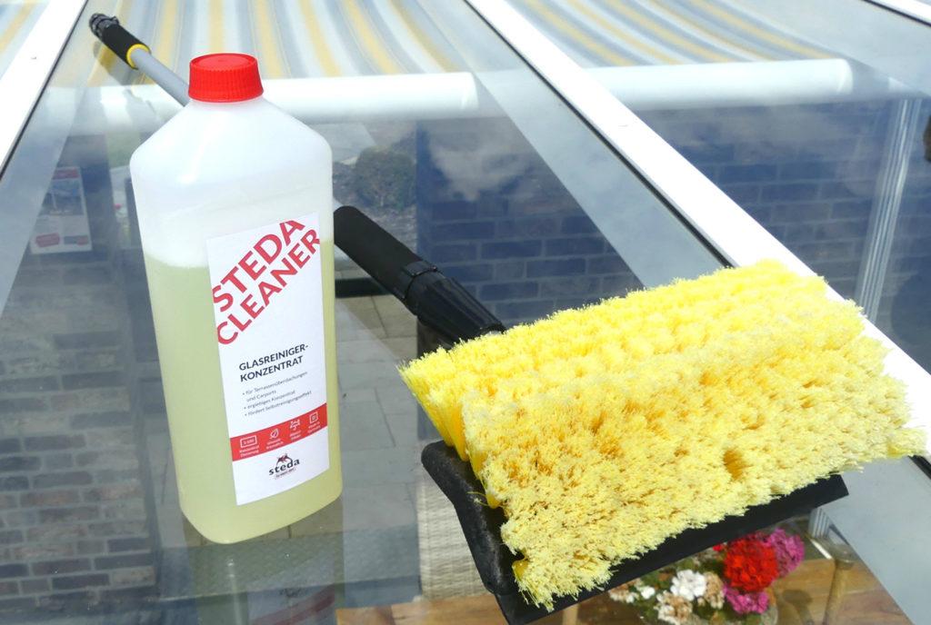 Gut gemocht Glasdach und Terrassendach richtig reinigen - So muss das! DC92