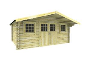 gartenhaus mit anstrich modell