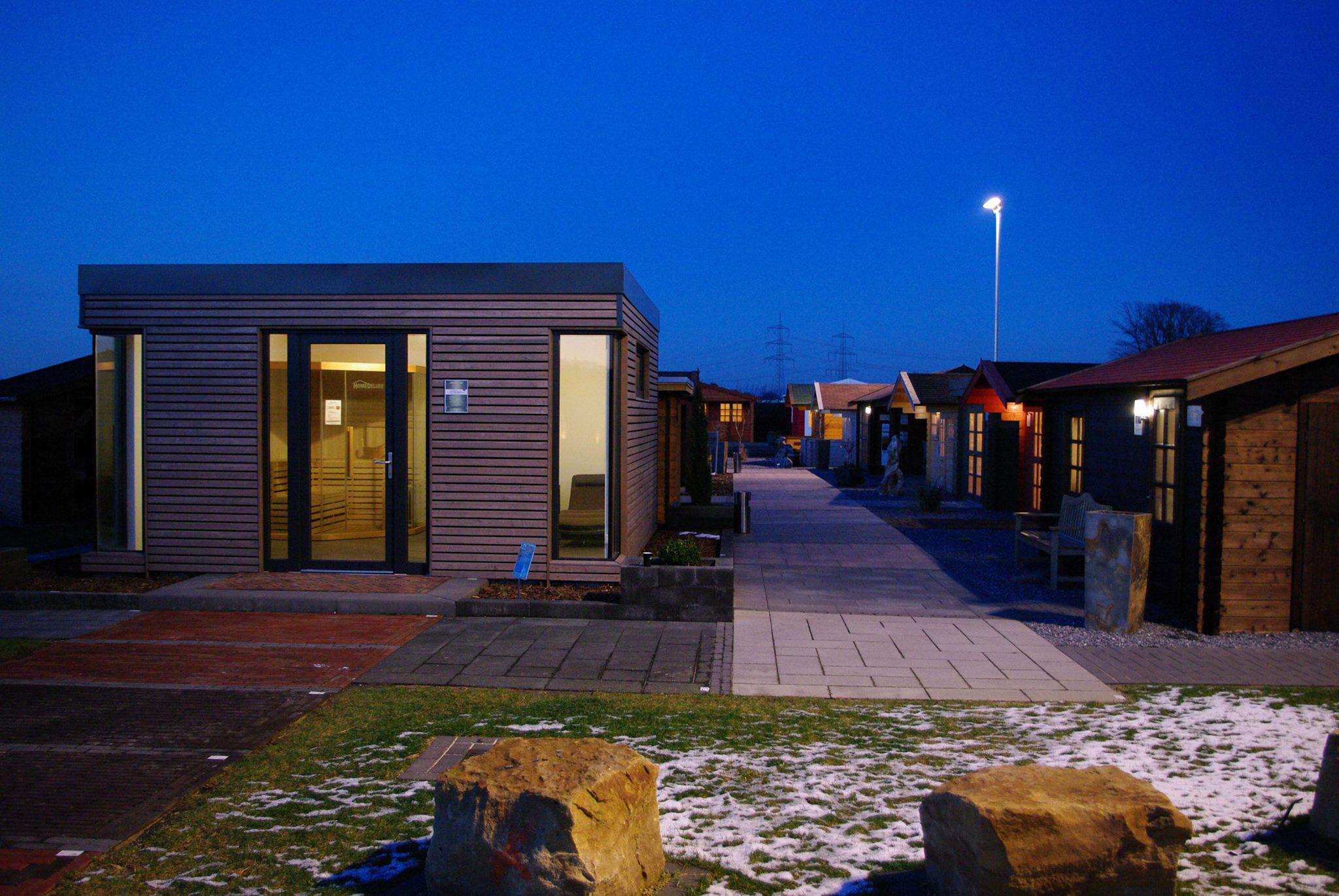 Gartenhaus Mit Sauna Teurer Luxus