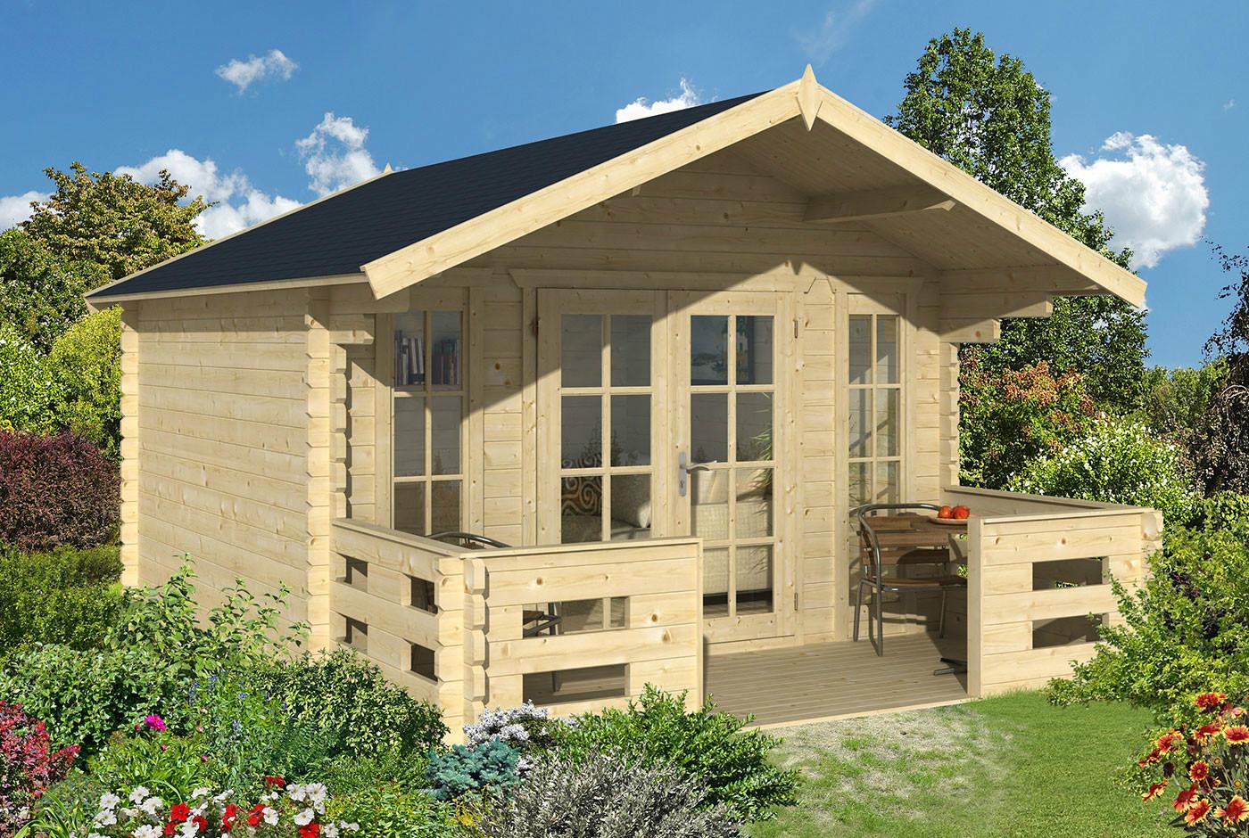 gartenhaus mit veranda lanzarote