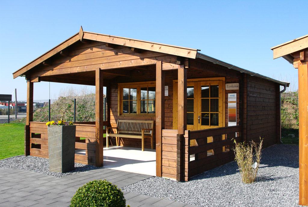 gartenhaus mit veranda modell toskana