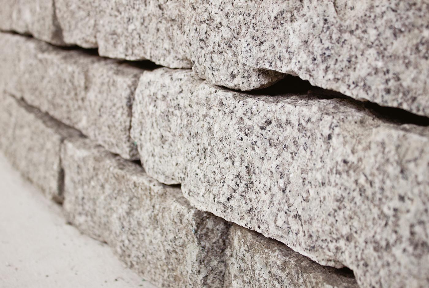 Top Granit Mauersteine setzen - So muss das! PJ76