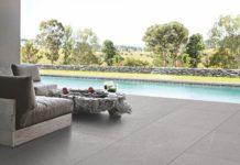Keramische Terrassenplatte