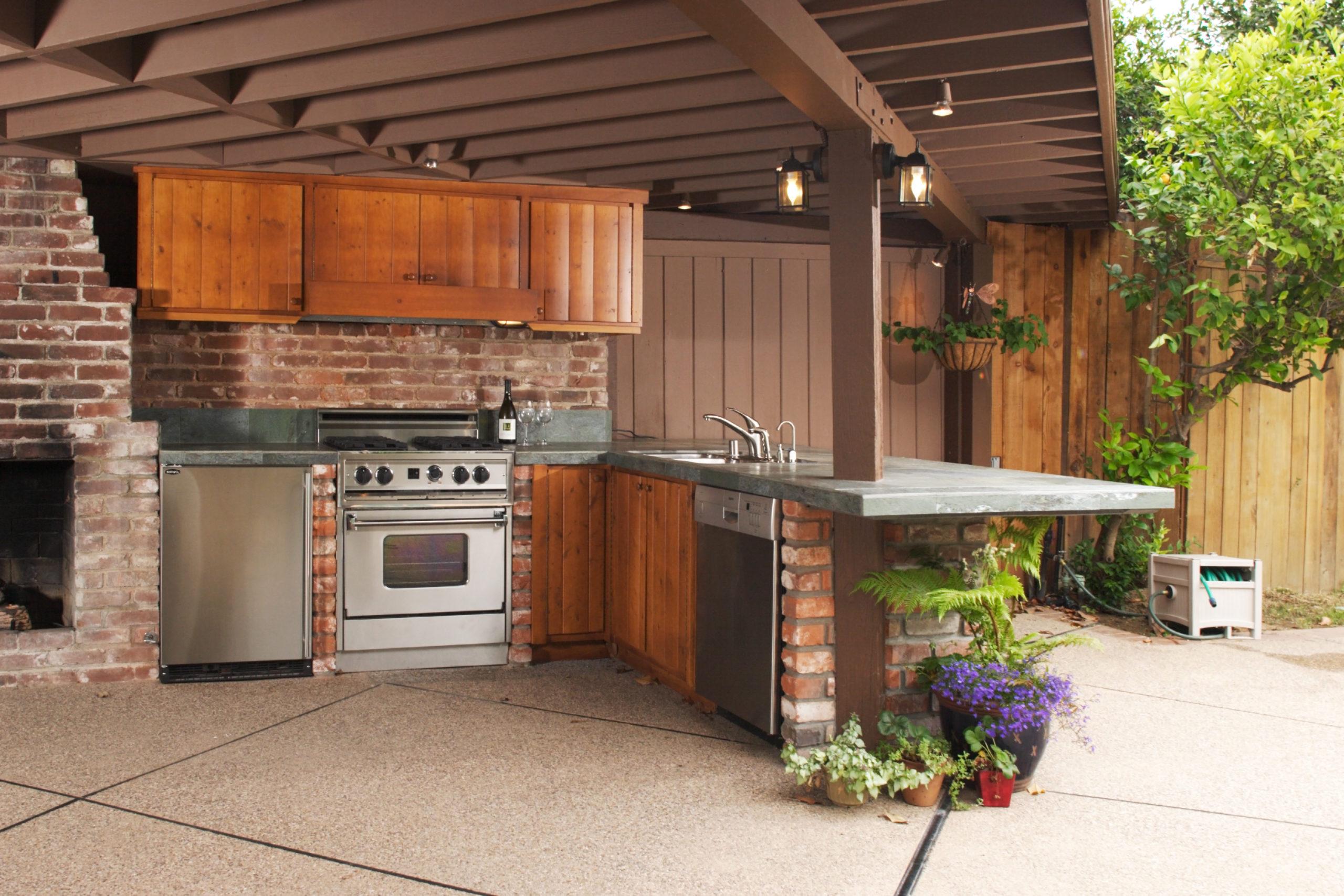 Outdoor Küche   So kocht es sich draußen wie drinnen