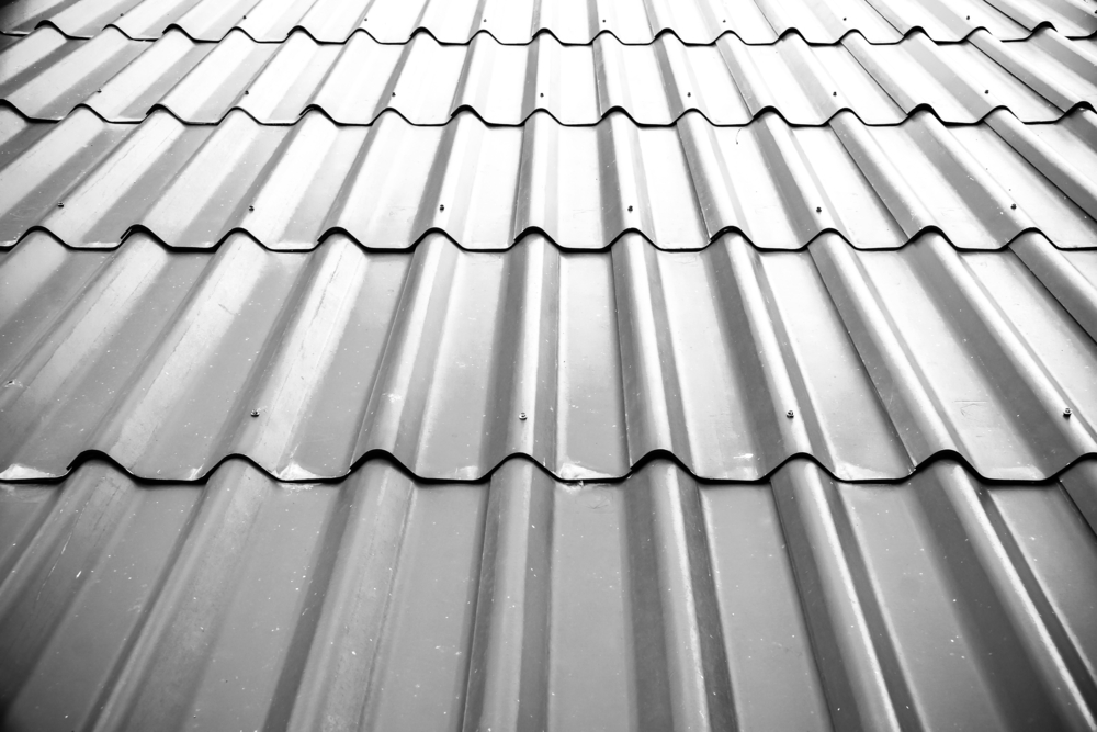 Metalldach als Dacheindeckung fürs Gartenhaus