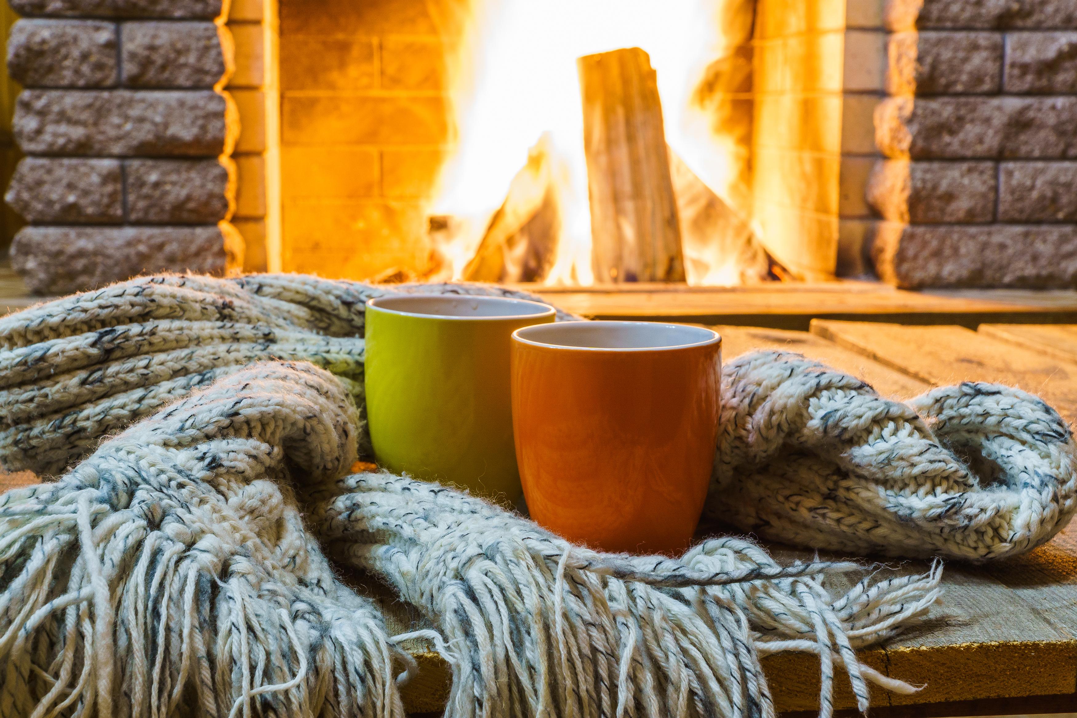 Gartenhaus Mit Kamin Gemütlich Und Warm Im Winter