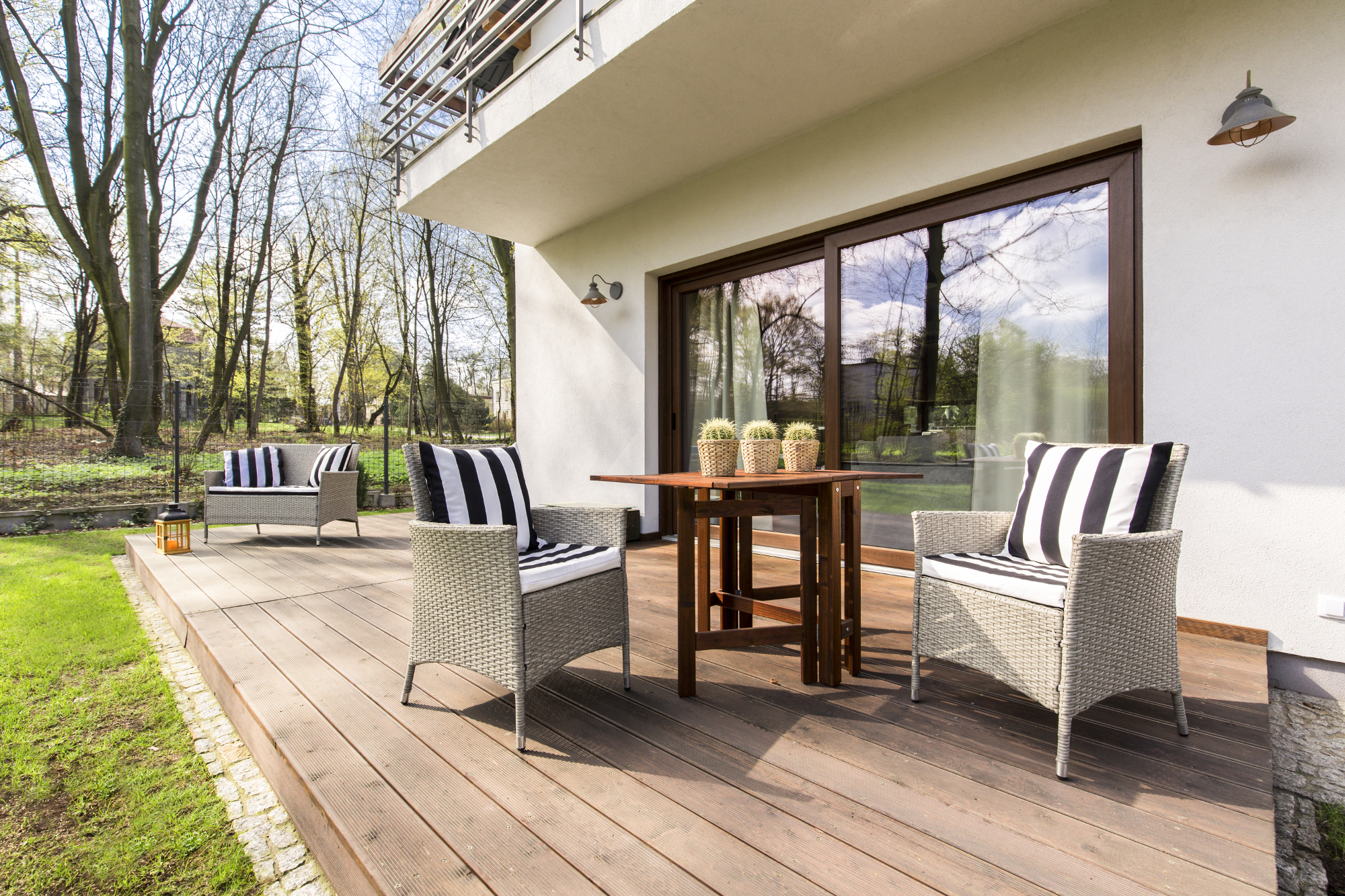 Terrassenuberdachung Unter Dem Balkon So Muss Das Magazin By Steda