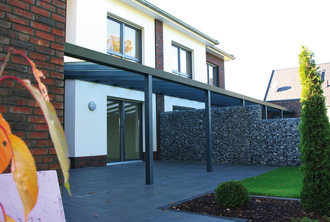terrassenüberdachung für das reihenhaus - welche möglichkeiten gibt es?